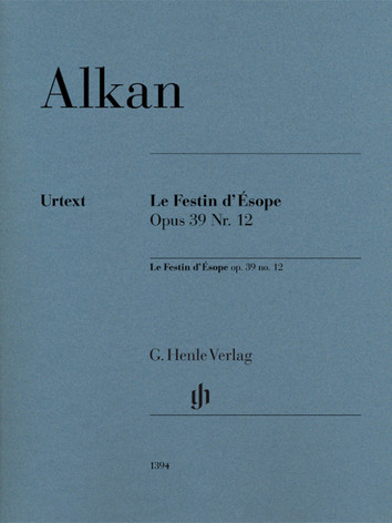 The first Henle Urtex Edition of one of the most popular work of Alkan, with fingerings by Vincenzo Maltempo