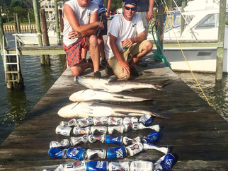Chesapeake Bay fishing report Bachelor party style!!
