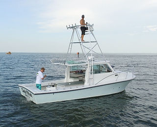 Privateer charter fishing boat 30'