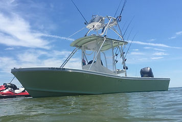 Privateer charter fishing boat 25'