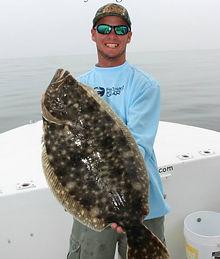 Zack Hoffman flounder