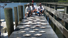 Flounder, Cobia and Stud Red Drum