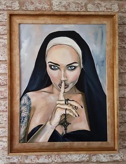 """Wicked Nun #2"" By Mark Fox"