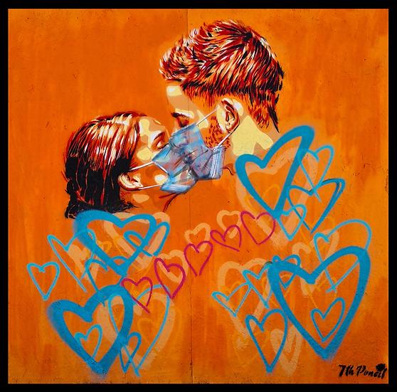 """COVID Kiss"" By 7th Pencil"