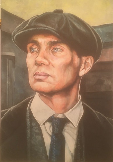 """Thomas Shelby"" By Craig Knight"