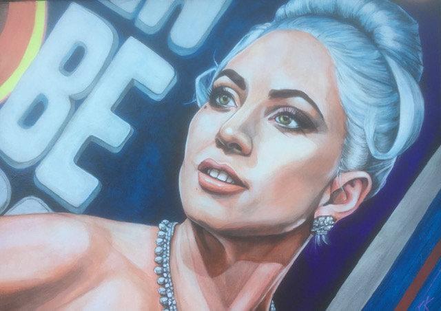 """""""Lady Gaga"""" By Craig Knight"""