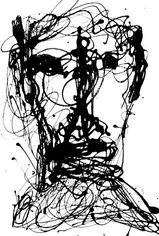 """Self-portrait Series #7/25"" By Marc Craig"