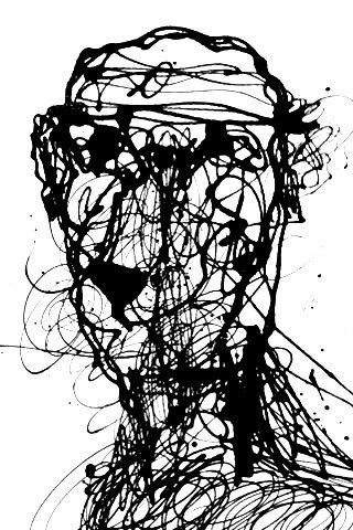 """Self-portrait Series #11/25"" By Marc Craig"