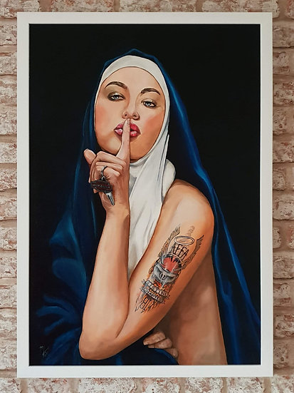 """""""Wicked Nun Series - Don't Tell a Soul """" By Mark Fox"""