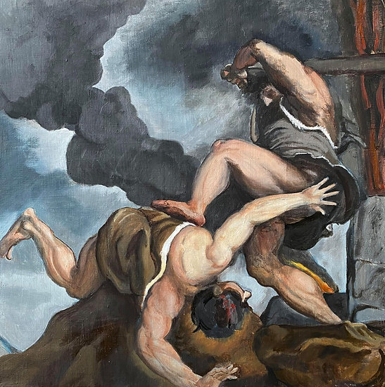 """""""Cain and Abel"""" By Nathaniel Newell"""