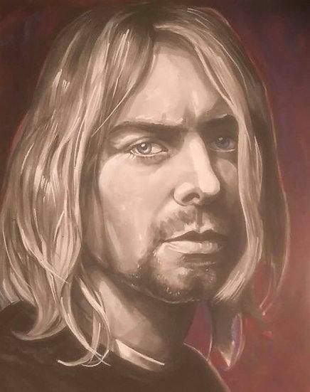 """Kurt Cobain"" By Craig Knight"