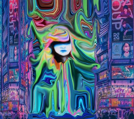 Abstract dreams #9 Tokyo Dreams - NFT By FkHEAD Edition of 3