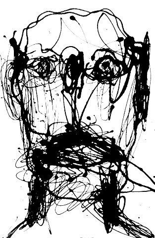 """Self-portrait Series #12/25"" By Marc Craig"
