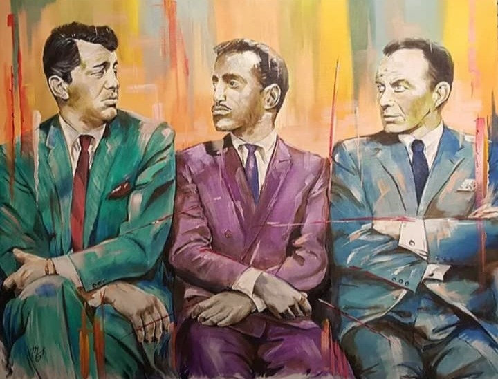 """Icon series - The Rat Pack"" By Mark Fox"
