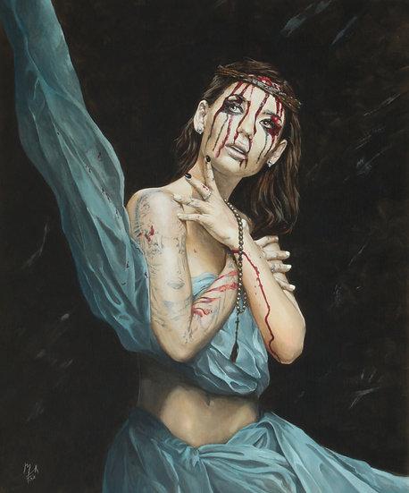 """Losing My Religion IV - Melancholy"" By Mark Fox"