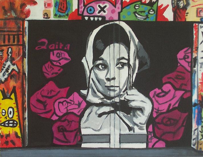 """""""Audrey Hepburn Op De Spuistraat"""" By Angela Thouless"""