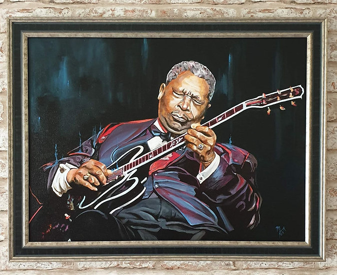 """""""King Of The Blues"""" By Mark Fox"""