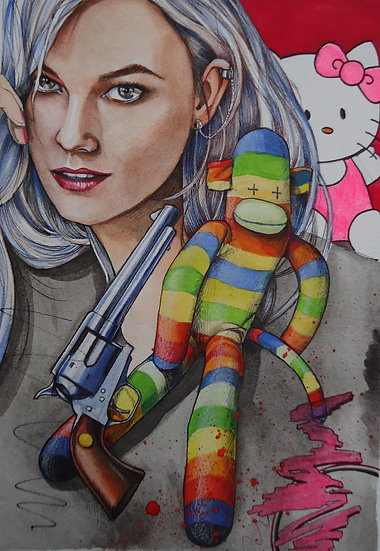 """""""Sock Monkey Dreams"""" By Craig Knight"""