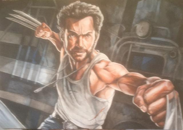 """Logan-Wolverine"" By Craig Knight"