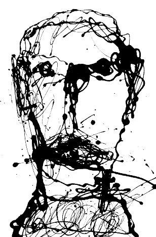 """Self-portrait Series #15/25"" By Marc Craig"