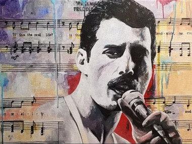 """Legend series - Freddie"" By Mark Fox"