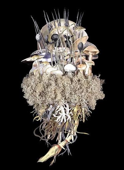 """Botanicals: Winter Troupe"" By Jana Nicole"