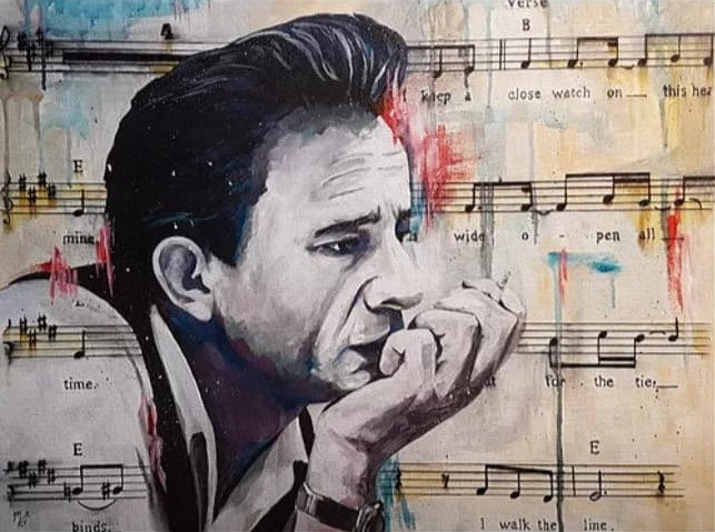 """Legend series - Johnny"" By Mark Fox"
