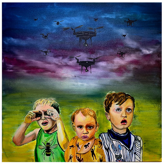 """""""Drone Babies"""" By CW STUBBS"""