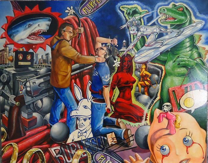 """Flippin Hell"" By Craig Knight"
