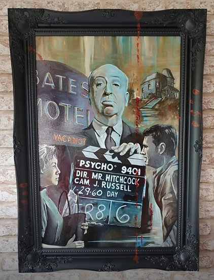"""Icon Series - Bates Motel"" By Mark Fox"