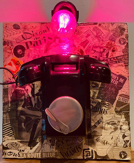 """""""Pink Telephone"""" By LLE"""