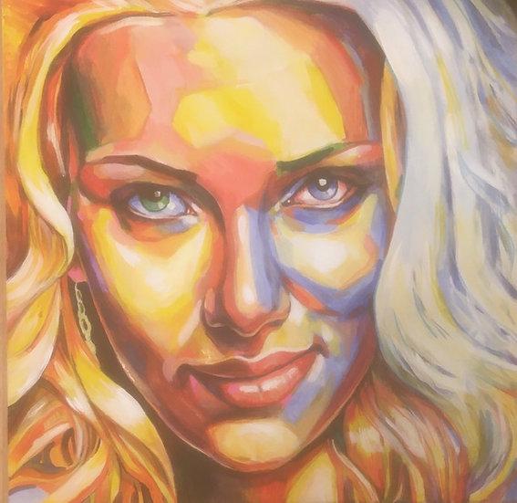 """Scarlett Johansson"" By Craig Knight"
