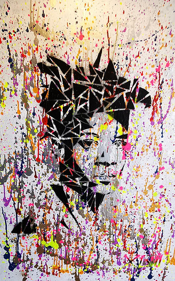 """Basquiat in pieces"" By XLVII"