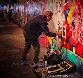 Street Artist XLVII Artist and Co-Founder of UK COLAB
