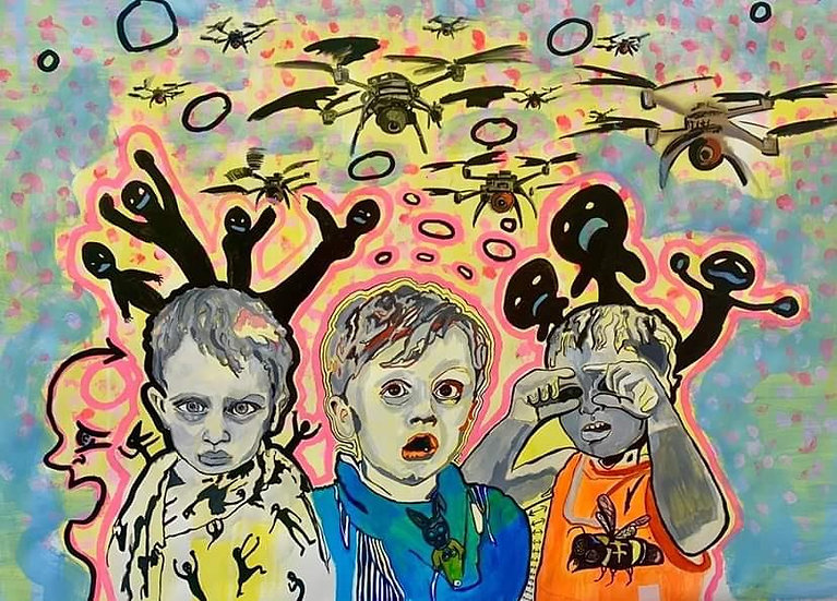"""""""Children of the Quarantine"""" By CW Stubbs"""