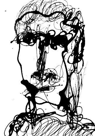 """Self-portrait Series #13/25"" By Marc Craig"