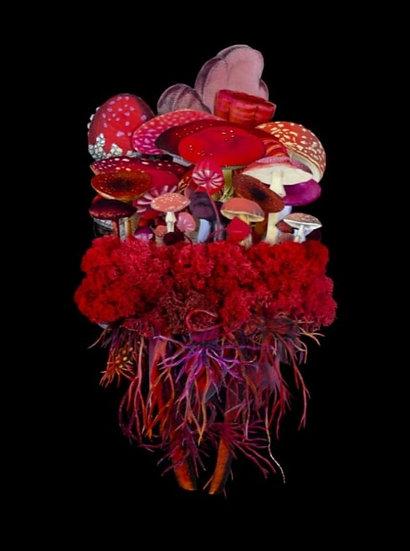 """Botanicals: Blaze"" By Jana Nicole"