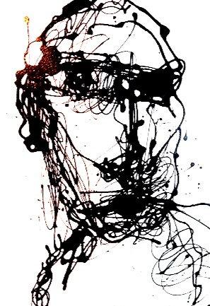 """Self-portrait Series #4/25"" By Marc Craig"
