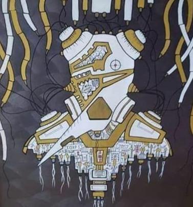 """""""Spare Parts"""" UNIQUE NFT by FkHEAD"""