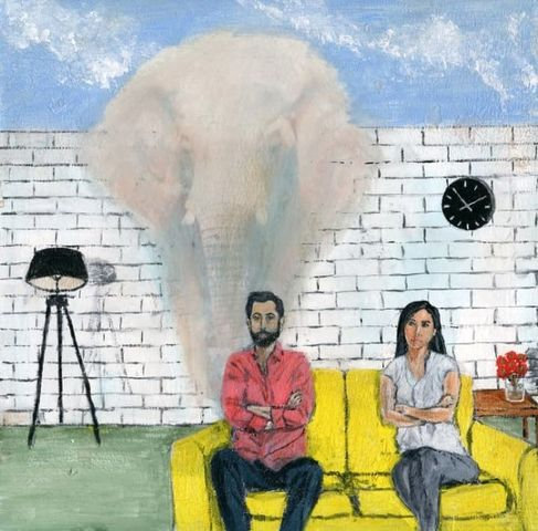 """""""ELEPHANT IN THE ROOM"""" By RobertSutton"""