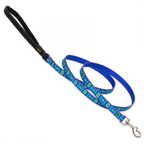 Lupine Pet Sea Glass Padded Handle Leash (6 Feet)
