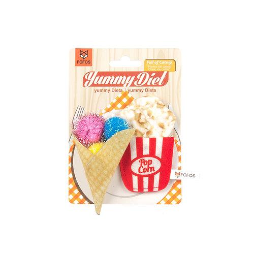 FOFOS Yummy DietPopcorn & Cone