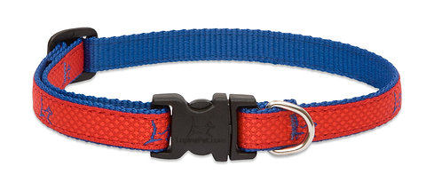 Lupine Pet Club Derby Red  Adjustable Collar