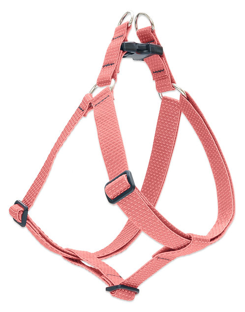 Lupine Pet ECO Coral Recycled Fiber Step-In Dog Harness