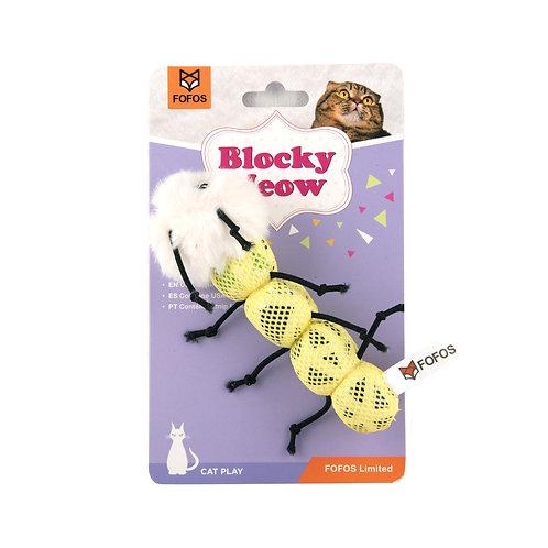 FOFOS Blocky Meow Worm