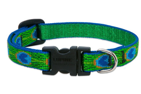 Lupine Pet Tail Feather Adjustable Collar