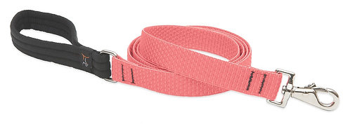 LupinePet Eco Coral Padded Handle Leash for Medium and Larger Dogs(6 foot)