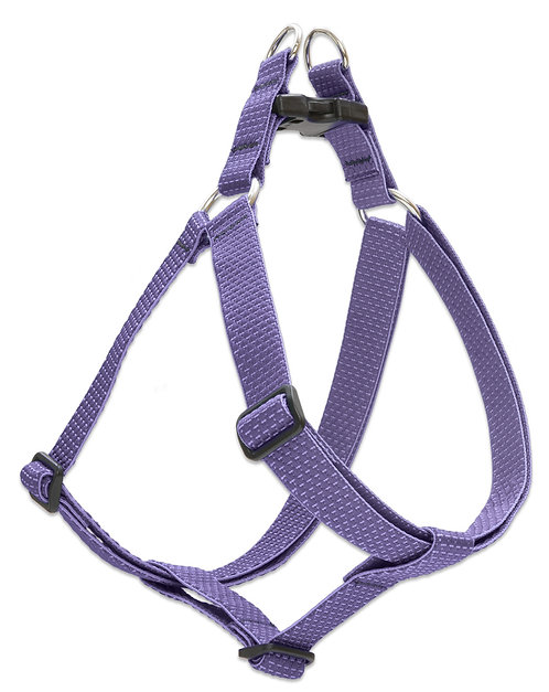 Lupine Pet ECO Lilac Recycled Fiber Step-In Dog Harness
