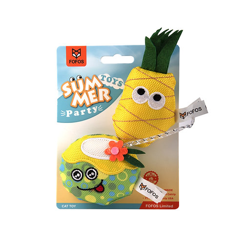 Summer Cat Toy  - Juice with Pineapple