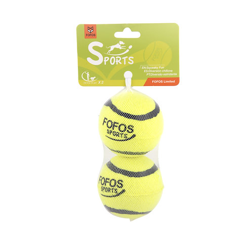 FOFOS Sports Fetch Ball 2pk